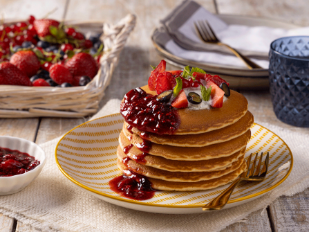 Pancakes con Té Matcha by Easyfood